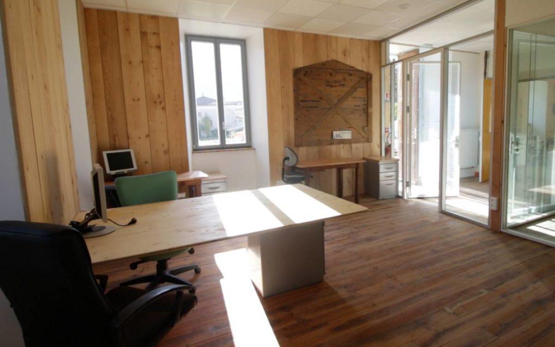 Des bureaux fermés bientôt disponibles dans l'Espace Barral